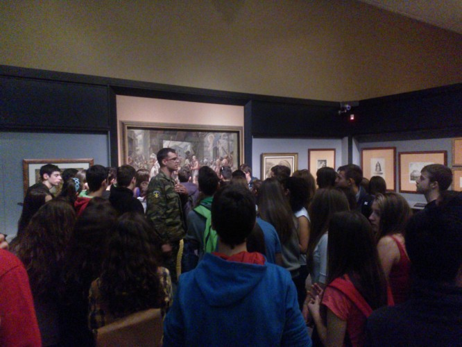 Επίσκεψη στο Πολεμικό Μουσείο