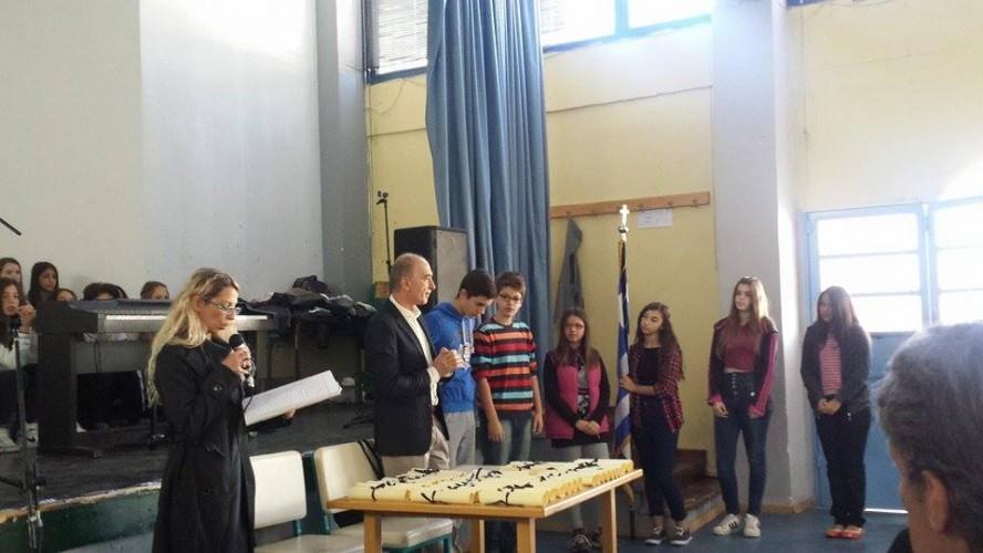 Το σχολείο μας τιμά την επέτειο του ΟΧΙ