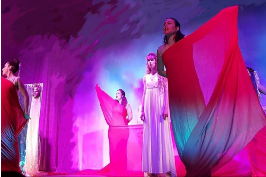 """Η Γ΄ Γυμνασίου στην παράσταση """"Ελένη"""""""
